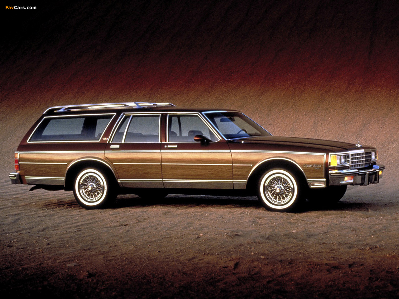 Chevrolet Caprice Estate Wagon 1985 Pictures 1280x960