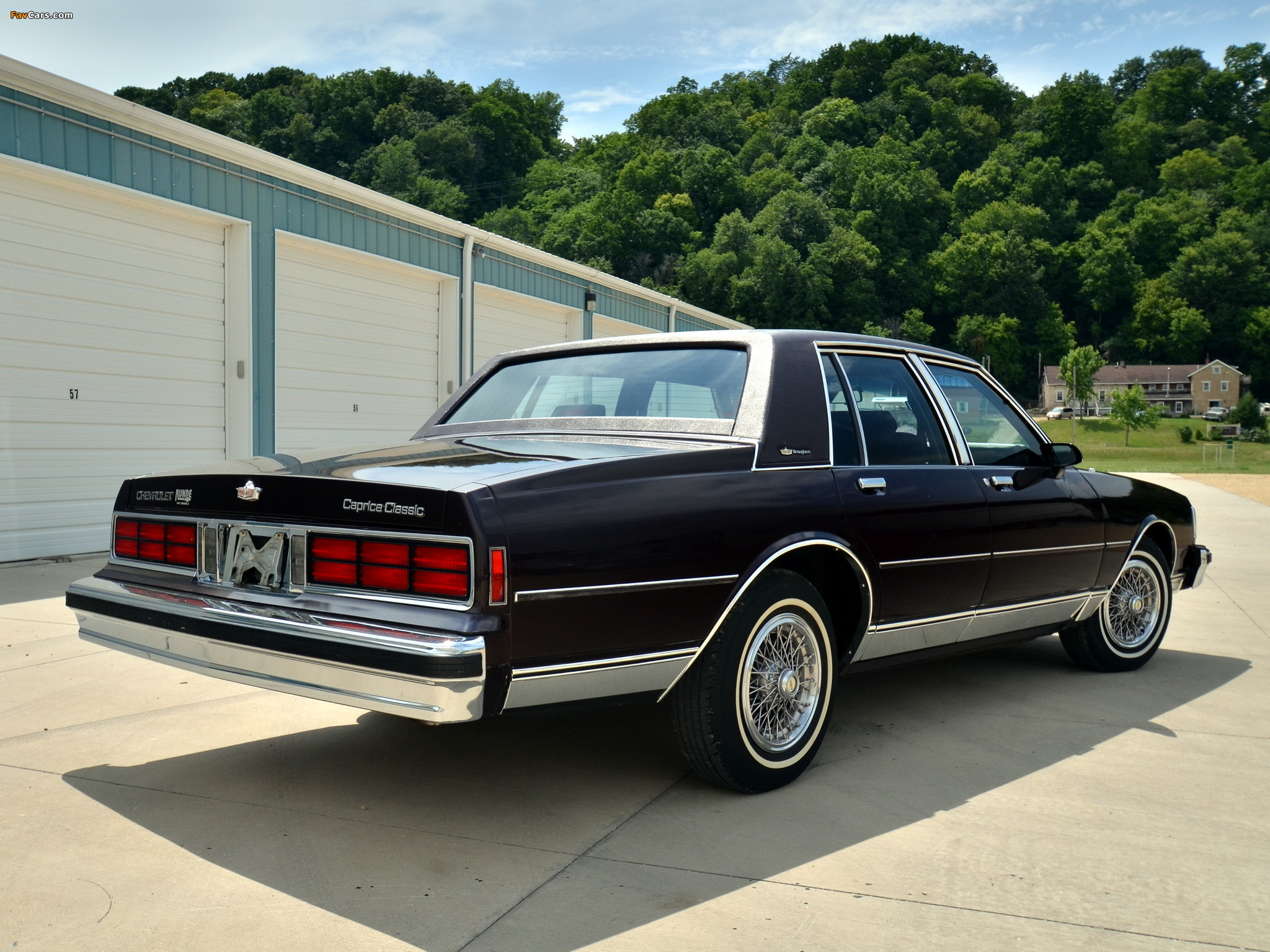 Chevrolet Caprice Classic Brougham 1987 90 Wallpapers 2048x1536