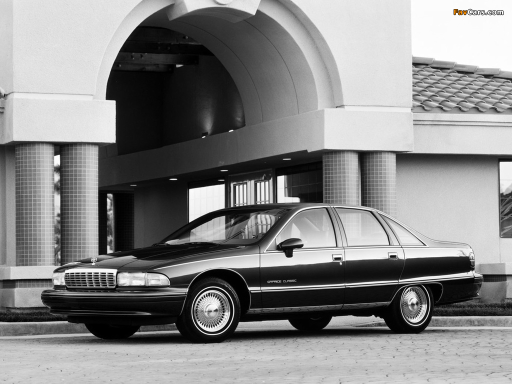 Chevrolet caprice classic 1991 93 images