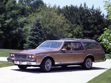 Pictures of Chevrolet Caprice Estate Wagon 1986