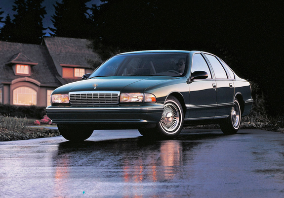 Pictures Of Chevrolet Caprice Classic 1993 96