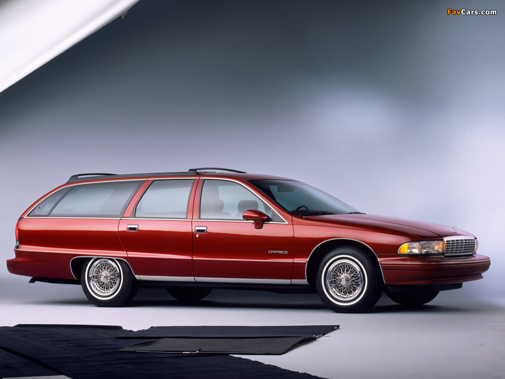 Chevrolet Caprice Station Wagon 1991 96 Wallpapers 1024x768