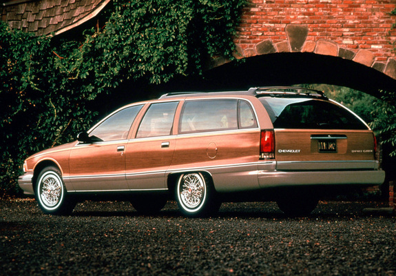 Chevrolet Caprice Station Wagon 1991 96 Wallpapers