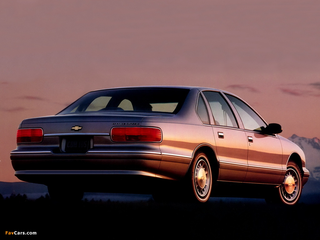 All Chevy 96 chevrolet caprice : Chevrolet Caprice Classic 1993–96 wallpapers (1024x768)