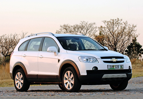 Chevrolet Captiva Za Spec 200711 Photos