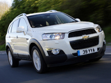 Chevrolet Captiva UK-spec 2011 images
