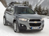 Chevrolet Captiva 2011–13 photos