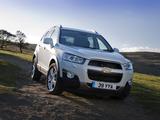 Chevrolet Captiva UK-spec 2011 pictures