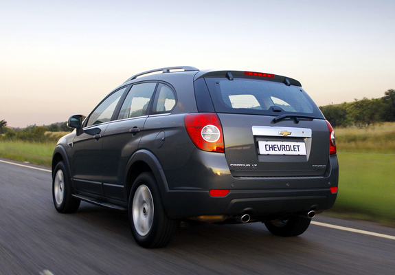 Chevrolet Captiva Za Spec 2011 Wallpapers