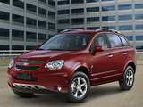 Photos of Chevrolet Captiva Sport US-spec 2011