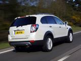 Pictures of Chevrolet Captiva UK-spec 2011