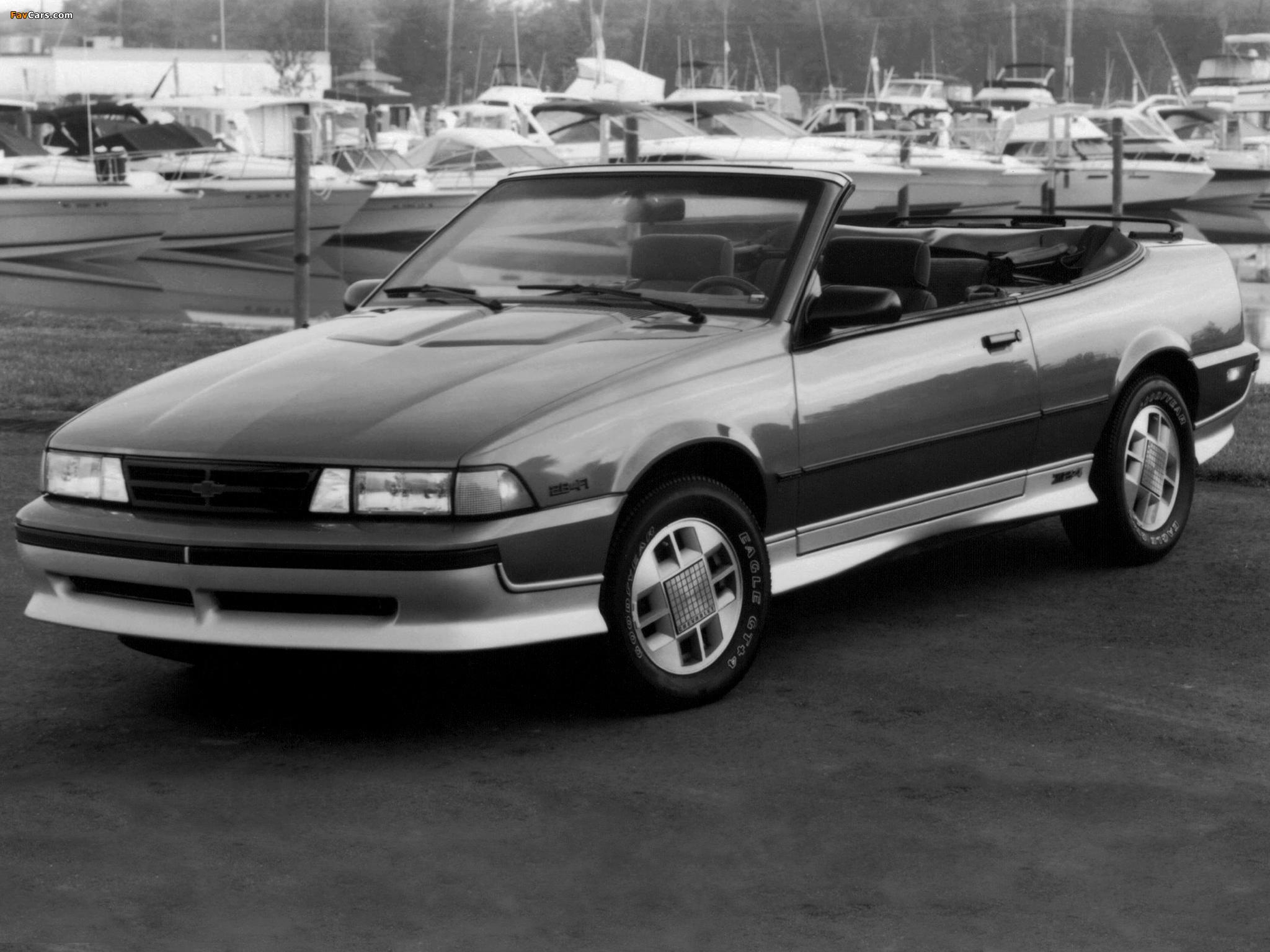 Chevrolet Cavalier Z24 Convertible 1988 images (2048x1536)