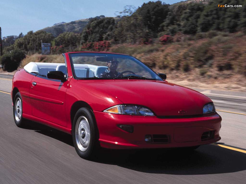 Chevrolet Cavalier Z24 Convertible 1996 99 Photos