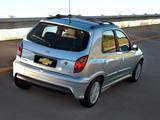 Chevrolet Celta Super 5-door 2006–11 wallpapers