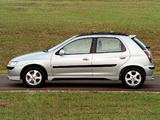 Chevrolet Celta Super 5-door 2003–06 wallpapers