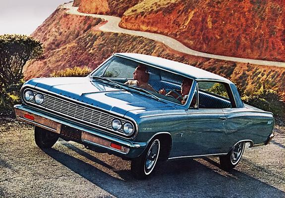 Chevrolet Chevelle Malibu SS 2-door Hardtop 1964 pictures