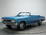 Chevrolet Chevelle SS 396 Convertible 1966 pictures