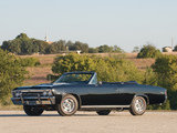 Chevrolet Chevelle SS 396 Convertible 1967 wallpapers