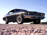 Chevrolet Chevelle COPO 427 Hardtop Coupe 1969 wallpapers