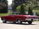 Pictures of Chevrolet Chevelle SS 396 Convertible 1966
