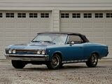 Pictures of Chevrolet Chevelle SS 396 Convertible 1967