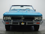 Chevrolet Chevelle SS 396 Convertible 1966 wallpapers