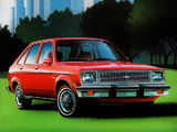 Chevrolet Chevette 5-door US-spec 1979–82 wallpapers