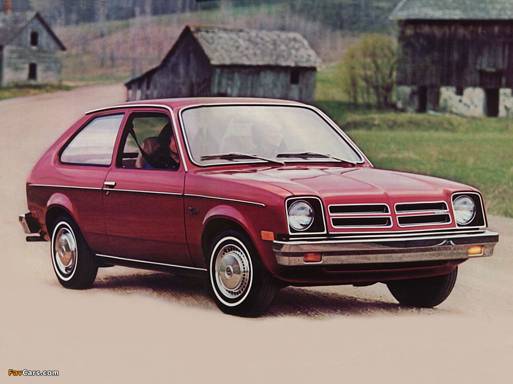 Photos of Chevrolet Chevette 3-door US-spec 1975–77 (1024 x 768)