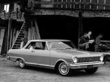 Photos of Chevrolet Chevy II Nova SS Sport Coupe (11737) 1965