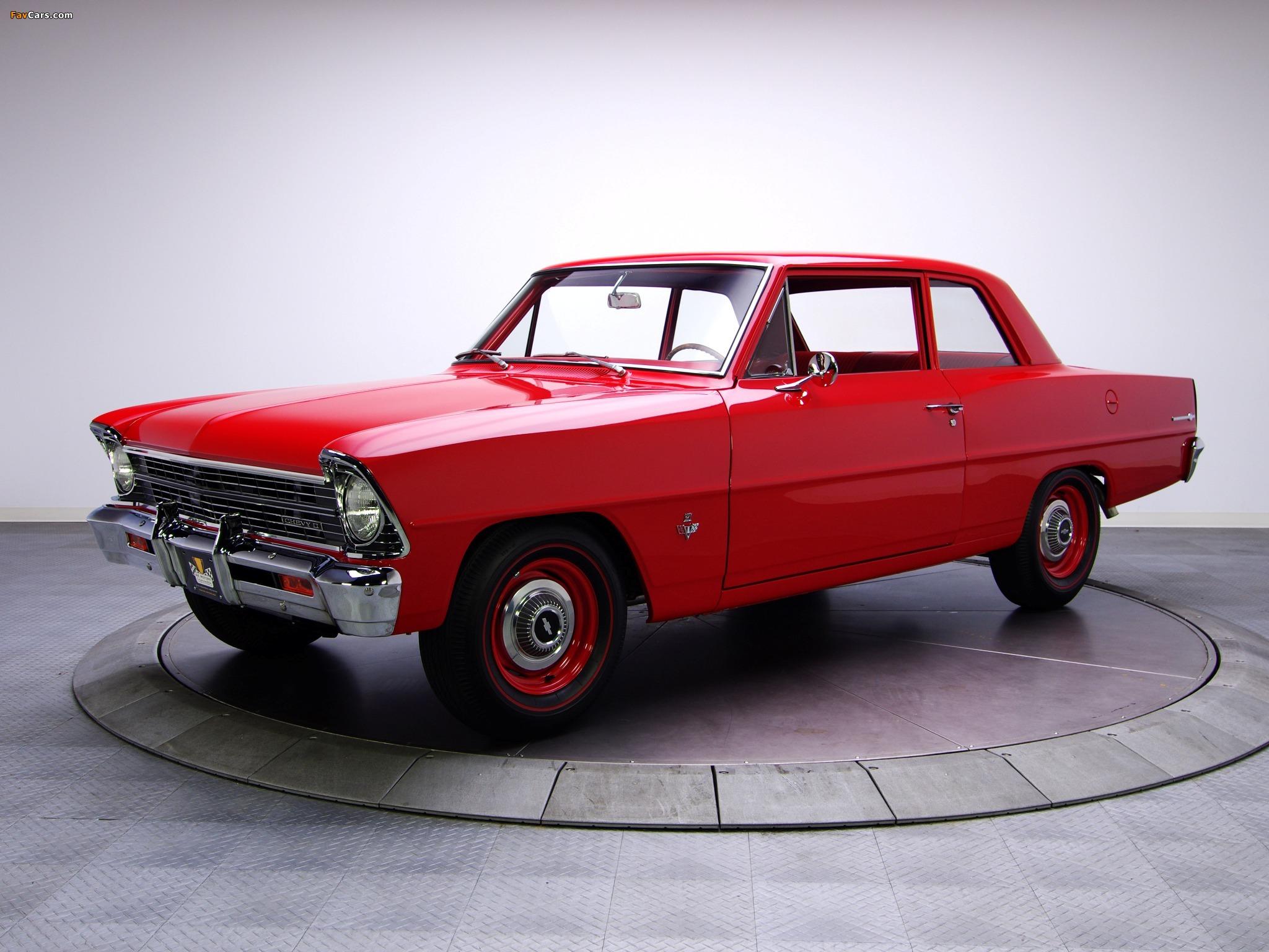 Chevrolet Chevy II 100 2-door Sedan (11411) 1967 wallpapers (2048x1536)