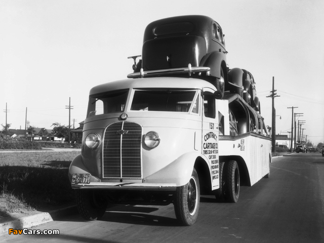 Chevrolet COE Haul-Away by Montpelier 1935–37 pictures (640 x 480)