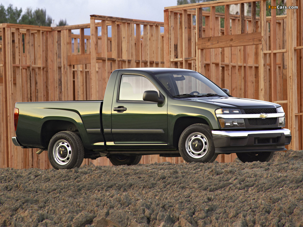 Chevrolet Colorado Regular Cab 2004–11 pictures (1024 x 768)