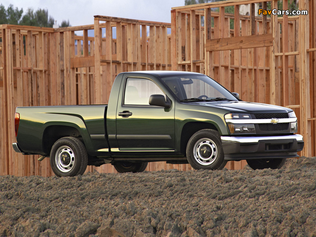 Chevrolet Colorado Regular Cab 2004–11 pictures (640 x 480)
