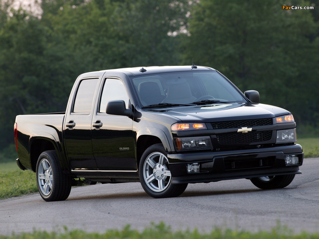 Chevrolet Colorado Sport Crew Cab 2004–11 pictures (1024 x 768)