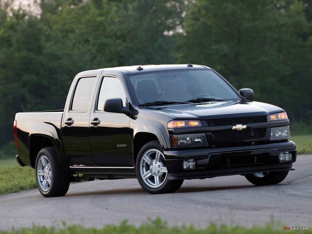 Chevrolet Colorado Sport Crew Cab 2004–11 pictures (1280 x 960)