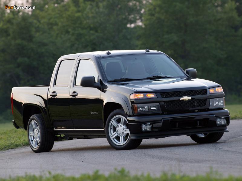 Chevrolet Colorado Sport Crew Cab 2004–11 pictures (800 x 600)