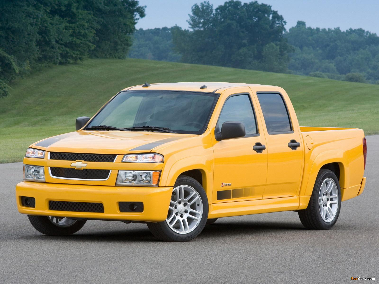 Chevrolet Colorado Xtreme Crew Cab 2006–11 photos (1600 x 1200)