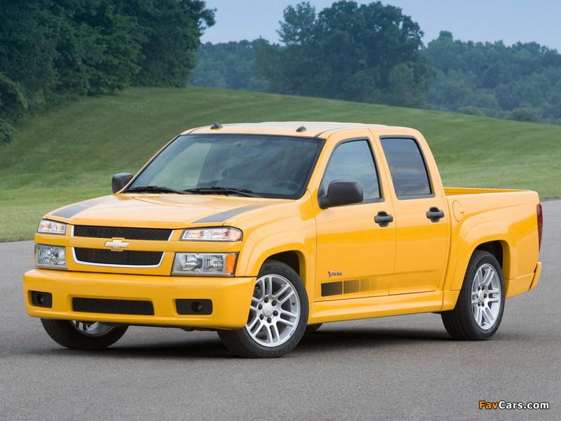 Chevrolet Colorado Xtreme Crew Cab 2006–11 photos (800 x 600)