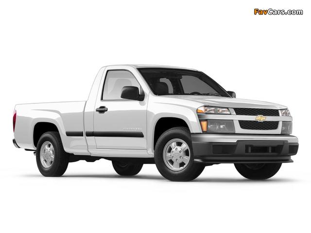 Images of Chevrolet Colorado Regular Cab 2004–11 (640 x 480)