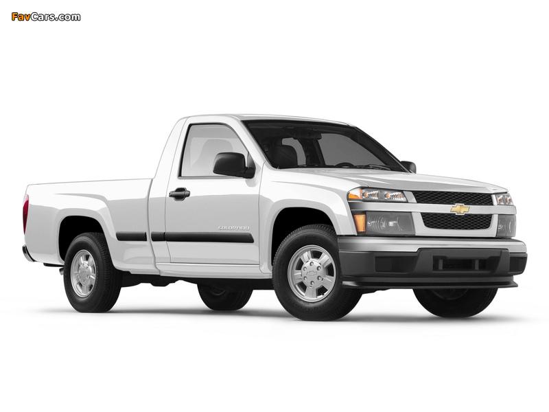 Images of Chevrolet Colorado Regular Cab 2004–11 (800 x 600)