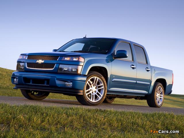 Photos of Chevrolet Colorado Sport Crew Cab 2004–11 (640 x 480)