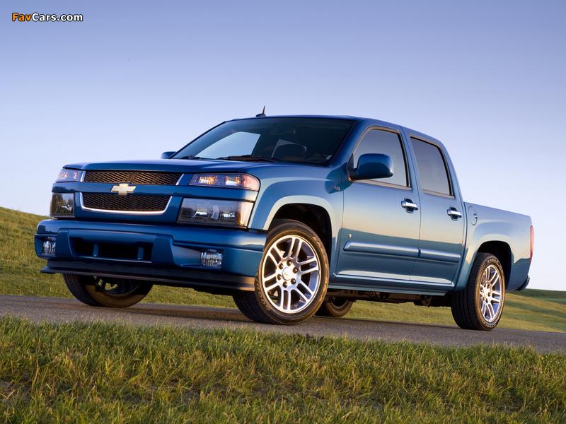 Photos of Chevrolet Colorado Sport Crew Cab 2004–11 (800 x 600)