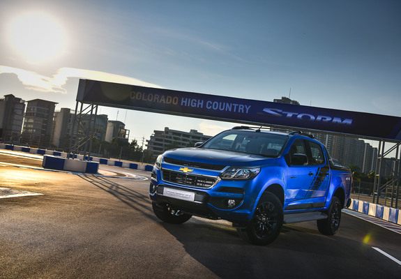Chevrolet Colorado High Country Storm Th Spec 2017 Wallpapers