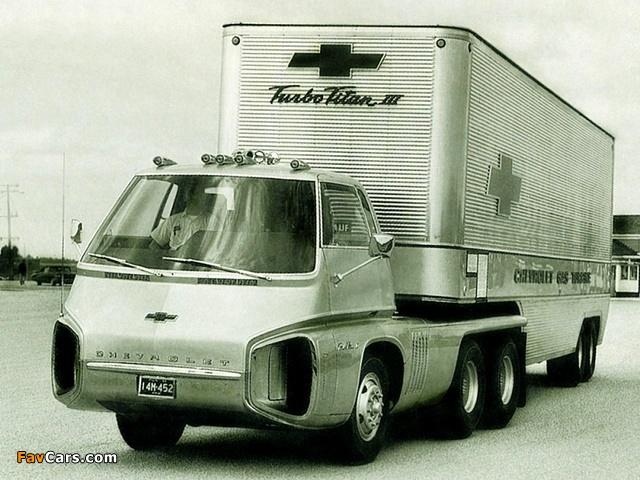Chevrolet Turbo Titan III Concept Truck 1966 images (640 x 480)