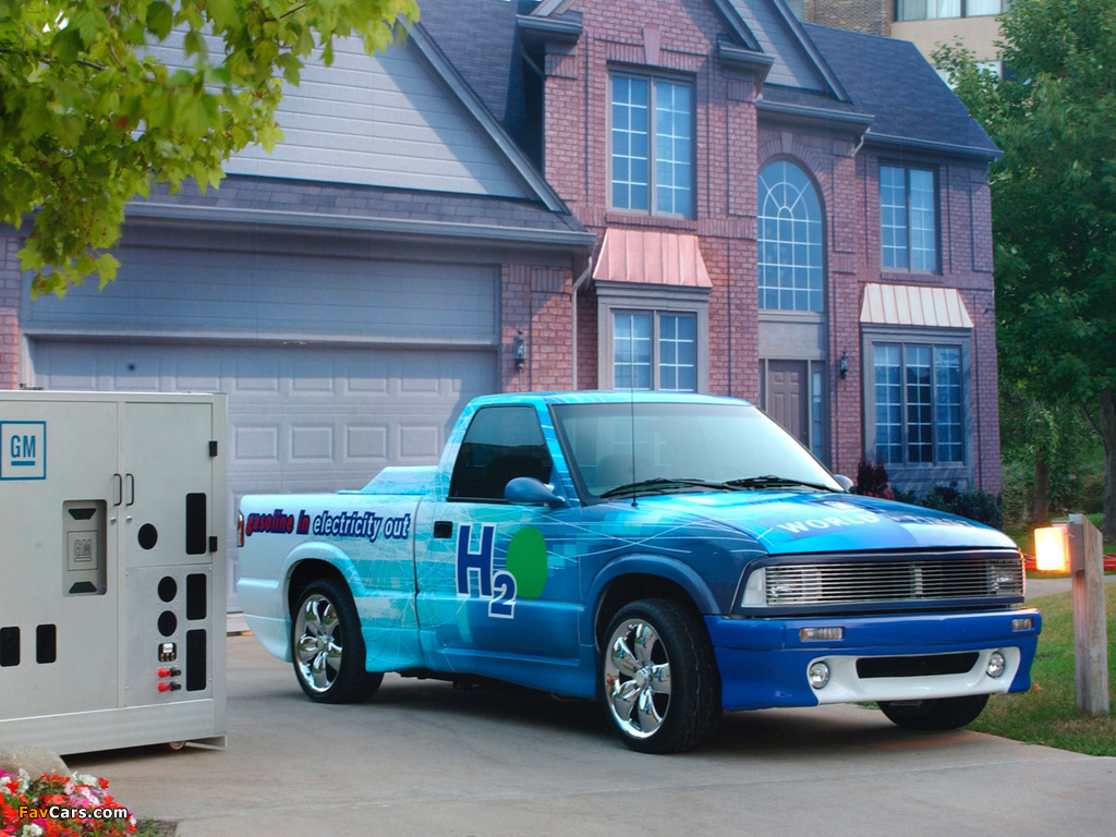 Chevrolet S-10 Gasoline-Fed Fuel Cell Vehicle 2002 images (1024 x 768)