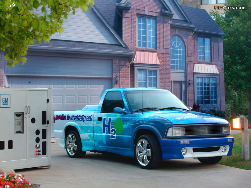 Chevrolet S-10 Gasoline-Fed Fuel Cell Vehicle 2002 images (800 x 600)