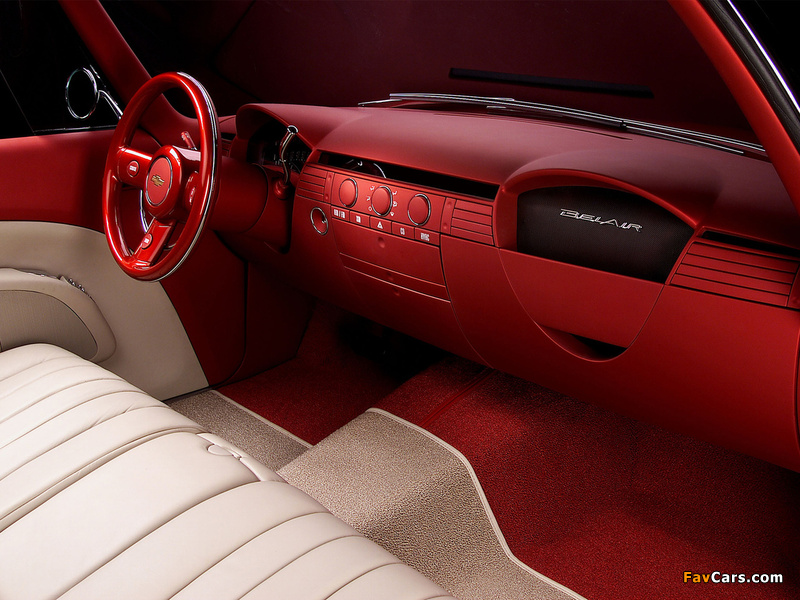 Chevrolet Bel Air Concept 2002 pictures (800 x 600)