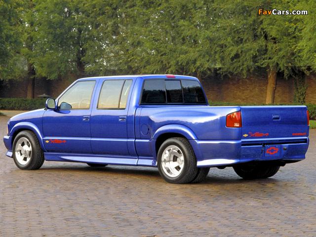 Chevrolet S-10 V8 Xtreme Pickup 2003 photos (640 x 480)