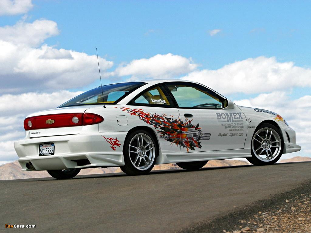 Chevrolet Cavalier Partner Vehicle 2003 wallpapers (1024 x 768)