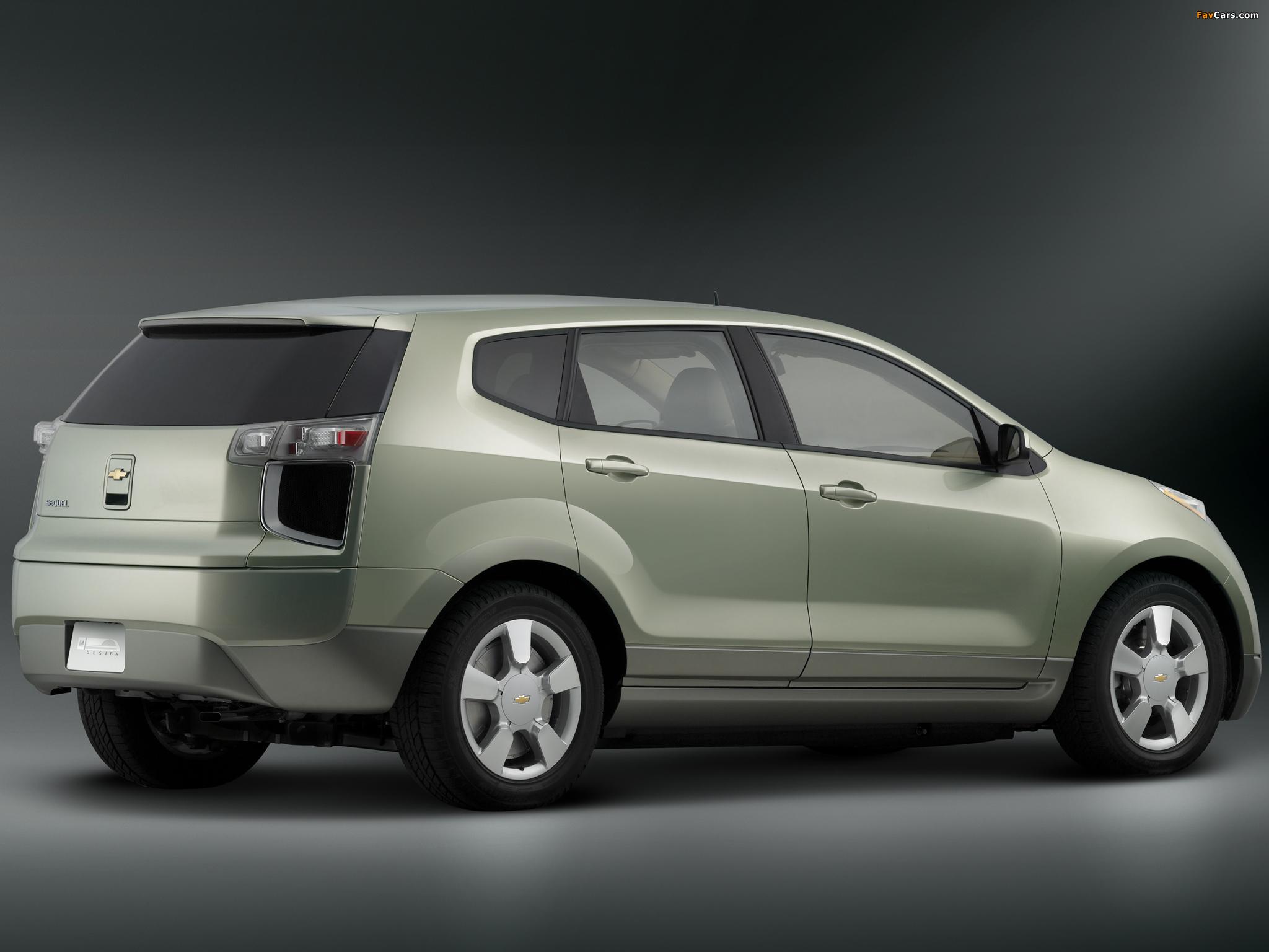 Chevrolet Sequel Concept 2006 pictures (2048 x 1536)
